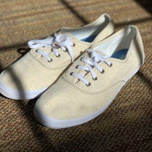 Women's cream Keds size 7.5